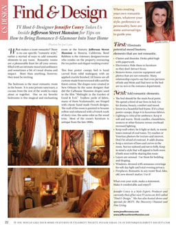 Celebrity Society Magazine Article on Jennifer Convy